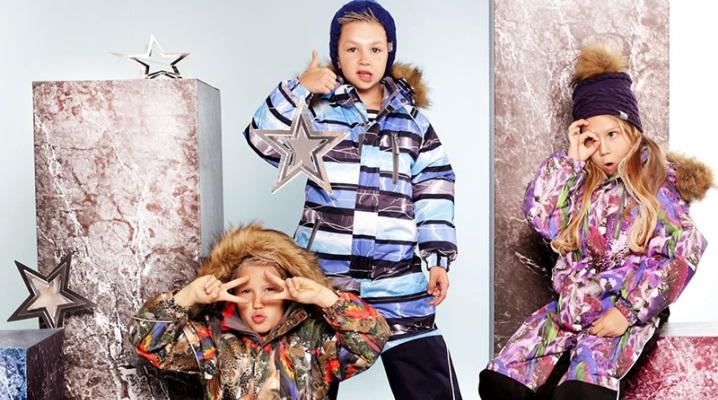 Детская одежда Huppa – стиль тепла
